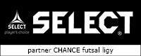 Select - partner Chance Futsal ligy