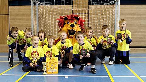 Dětský fotbalový pohár zdvihl svou třetí oponu