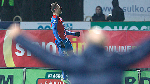 PHOTO: SYNOT liga: Wins for Plze� and Sparta